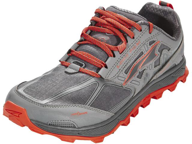 Altra Lone Peak 4 Chaussures de trail Homme, gray/orange